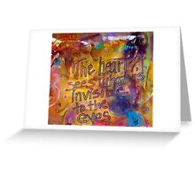 Inside Out Greeting Card