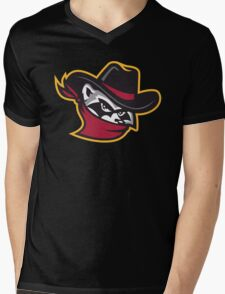 The River Bandits Head Mens V-Neck T-Shirt
