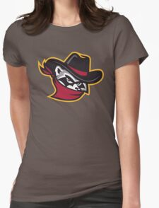 The River Bandits Head Womens Fitted T-Shirt