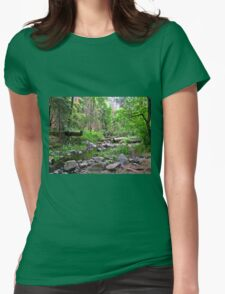 Peace and Serenity  Womens Fitted T-Shirt