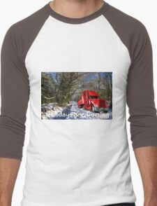 Holidays are coming  Men's Baseball ¾ T-Shirt