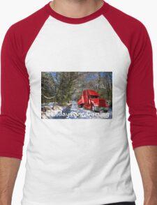 Holidays are coming  Men's Baseball ¾ T-Shirt