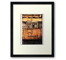 Waste Allocation Load Lifter – Earth Class (WALL E) Framed Print