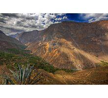 Colca Canyon, Peru Photographic Print