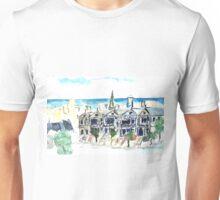 San Francisco Victorian houses Unisex T-Shirt
