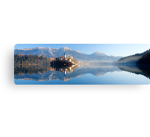 Reflections on Lake Bled Canvas Print