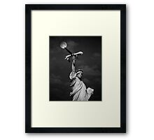 Give Me My Enemies  Framed Print