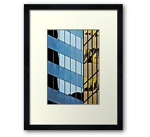 Denver reflection 7 Framed Print