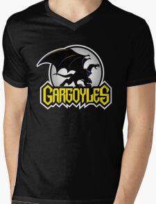 Retro Gargoyles Mens V-Neck T-Shirt