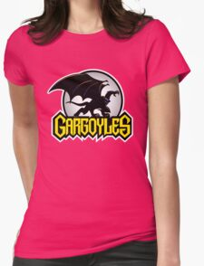 Retro Gargoyles Womens Fitted T-Shirt