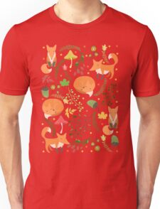 Foxes pattern Unisex T-Shirt