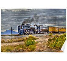 Union Pacific #844 Steam Poster