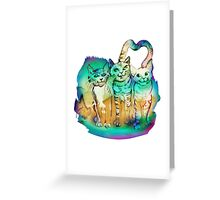 Three Brothers Greeting Card
