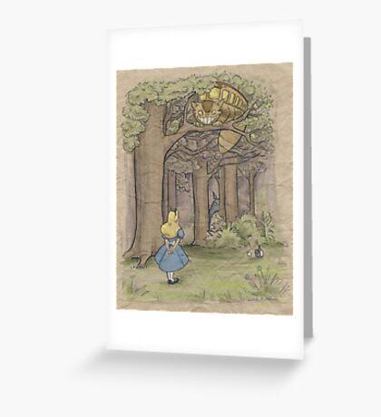 My Neighbor in Wonderland Greeting Card