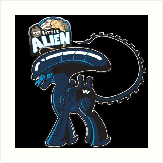My Little Alien by Ratigan