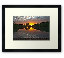 Epping Forest Sunrise Framed Print