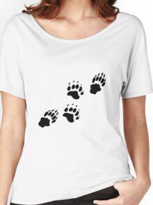 Bear Tracks Women's Relaxed Fit T-Shirt