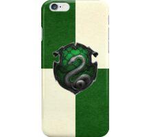 Slytherin Grunge iPhone Case/Skin