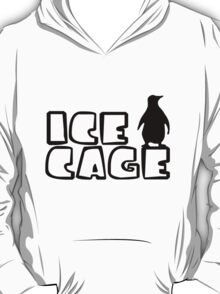 Ice Cage Penguin T-Shirt
