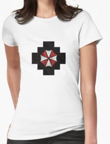 Resident Evil Umbrella Corporation Womens Fitted T-Shirt