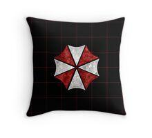 Resident Evil Umbrella Corporation Throw Pillow