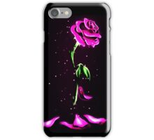 Beauty and The Beast Rose Flower iPhone Case/Skin