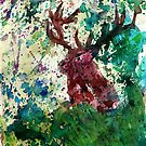 Pop Art Deer by artshop77