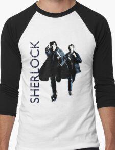 Sherlock Holmes and Doctor Watson! Men's Baseball ¾ T-Shirt