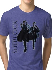 Sherlock Holmes and Doctor Watson! Tri-blend T-Shirt