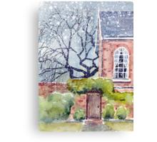 The Poplars Canvas Print