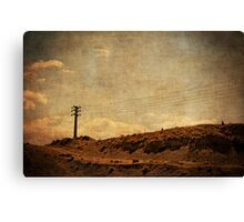 Once Upon A Time On The Other Side Of The World Canvas Print