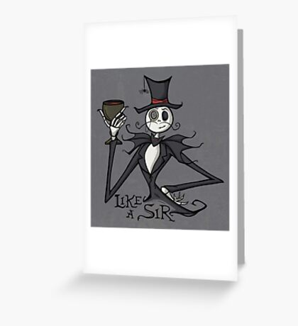 Gentleman Jack Greeting Card