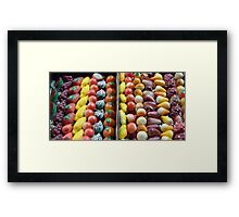 Marzipan Fruit From France Framed Print