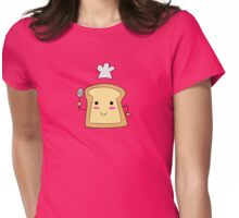 Chef Toast Womens Fitted T-Shirt