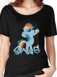 Rainbow Swag Women's Relaxed Fit T-Shirt
