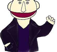 Ninth Doctor Muppet Style by Qooze