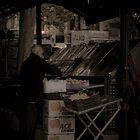 Fruit Seller on Colllins st by Andrew Wilson
