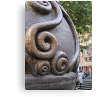 Scrolls on Swanston Canvas Print
