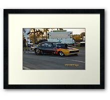 True Muscle Framed Print