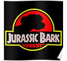 Jurassic Bark - Futurama / Jurassic Park Crossover Parody Poster