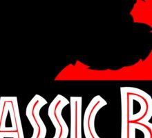 Jurassic Bark - Futurama / Jurassic Park Crossover Parody Sticker