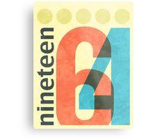 Nineteen 64 Metal Print