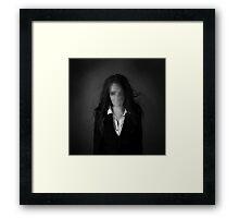 Slender Woman Framed Print