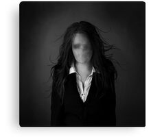 Slender Woman Canvas Print