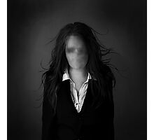 Slender Woman Photographic Print