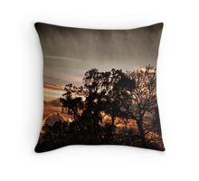 Sundown! Throw Pillow