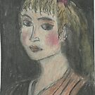 Head Of A Girl(After Rubens) by RobynLee