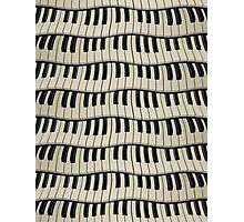 Rock And Roll Piano Keys Photographic Print
