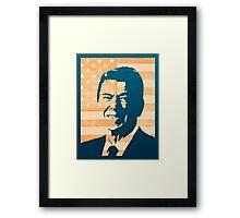 Ronald Reagan Framed Print
