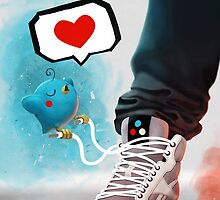 sneaker Love by pinguin